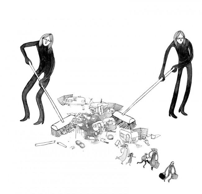 Luisa Licht 5, Revue Mouvement