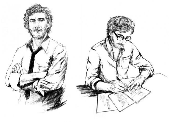 Portrait 1, Büro X