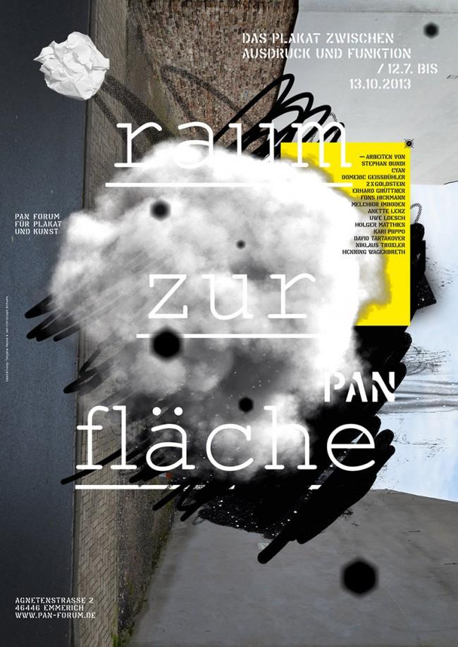 Ausstellungsplakate PAN Forum für Plakat und Kunst