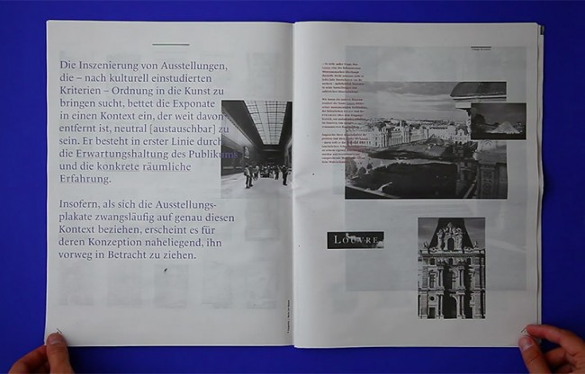Dokumentation der Konzeption und des Gestaltungsprozesses der Ausstellungsplakate des Musée du Louvre – mit Pierre Bernard & Sacha Léopold, Atelier de Création Graphique, Paris