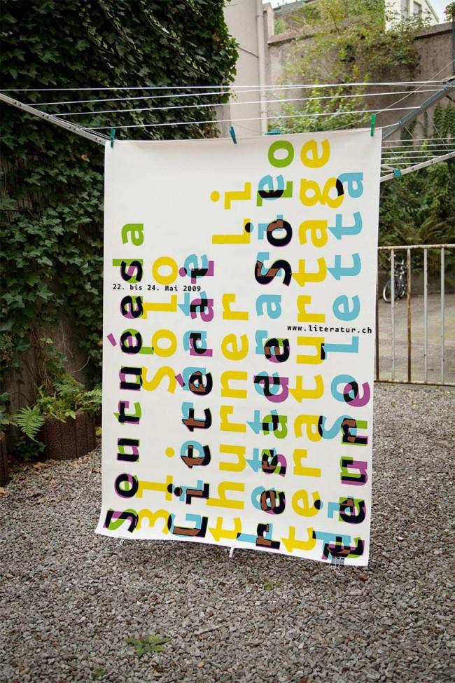 Solothurner Literaturtage, Plakat