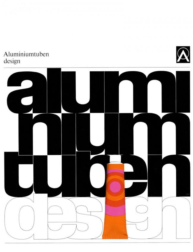Cover der Broschüre für die Deutsche Aluminium Zentrale 1969