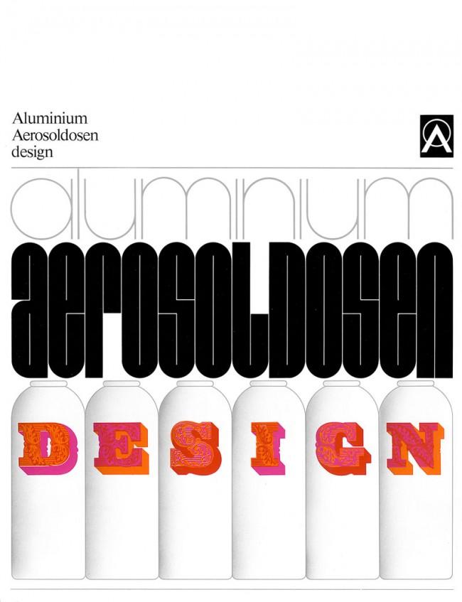 Cover der Broschüre für die Deutsche Aluminium Zentrale 1971