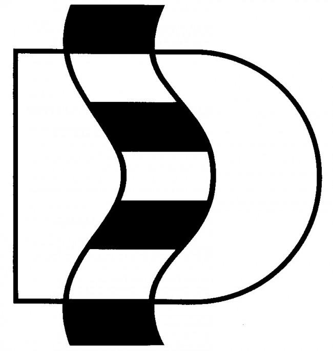 Wettbewerbsbeitrag um ein Logo für die Stadt Düsseldorf 1984