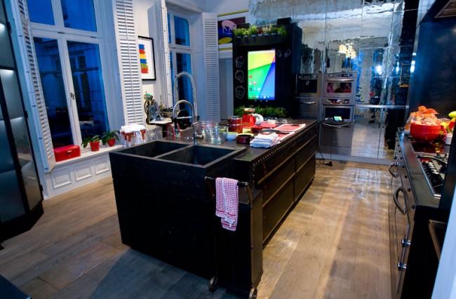 Die Küche im Google Haus