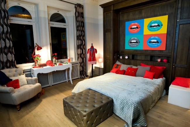 Schlafzimmer und Fashion-Room