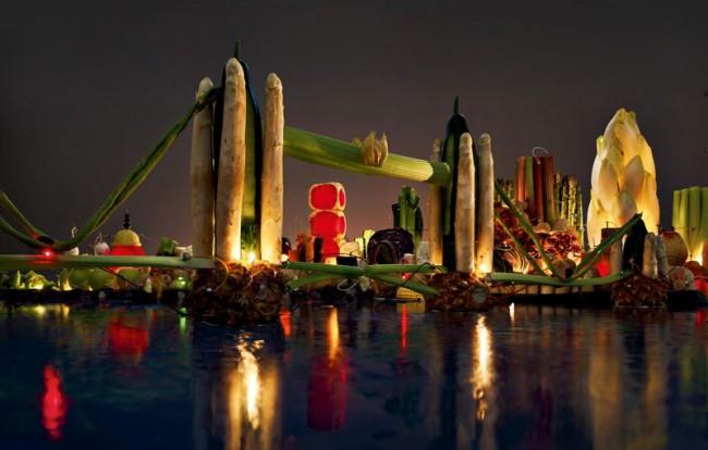 Bronze – Wirz Werbung AG für Tibits Restaurant: »Natural Skylines« Campaign realisiert von Schaub Stierli Fotografie