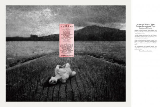 Silber – Publicis Shanghai für Taipei Women's Rescue Foundation, Fotograf und Art-director Hsieh Chun-Te
