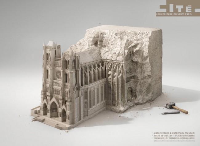 Silber | Havas Worldwide Paris | Architecture Museum Paris, Museum: »Architecture Museum Paris (Cité De l'Architecture et du Patrimoine)« SURACHAI PUTHIKULANGKURA / SUPACHAI U-RAIRAT / LA MANUFACTURE PARIS