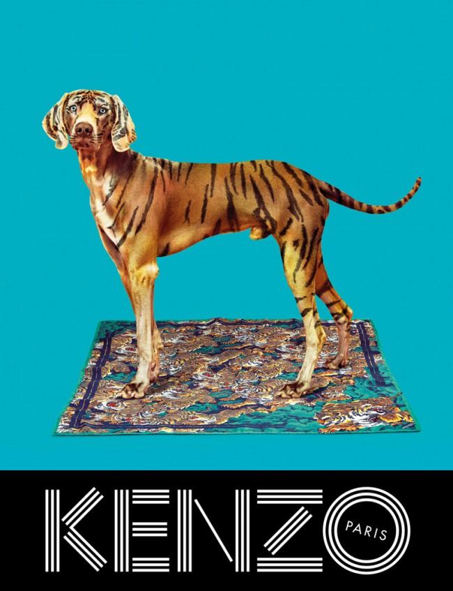 Kenzo und »Toiletpaper«: Motiv aus der Herbst-Winter-Kampagne 2014