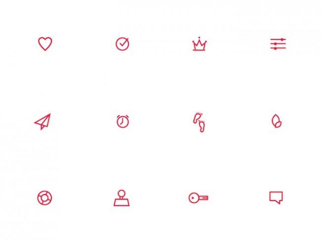 Vital-App: Icons