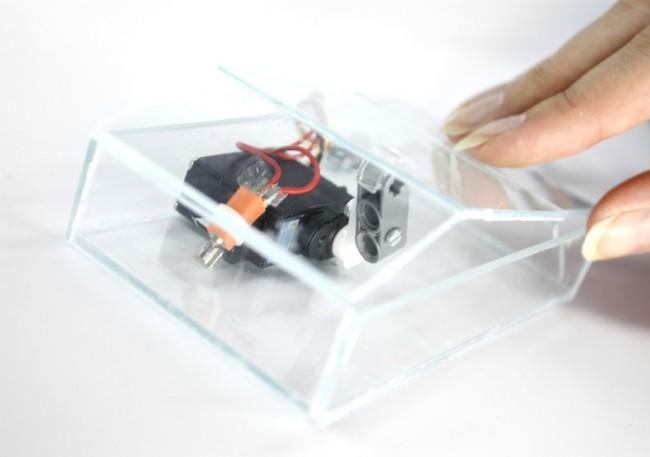 Fabian Hemmerts Handy-Prototyp Ambient Life: Ein Telefon mit Herzschlag, das atmet