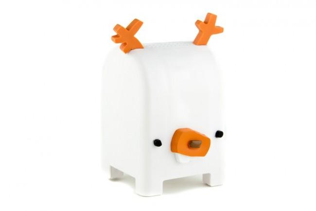 Gestatten, Buck: Mit den Toymail-Tierchen lassen sich Sprachnachrichten mit Kindern austauschen