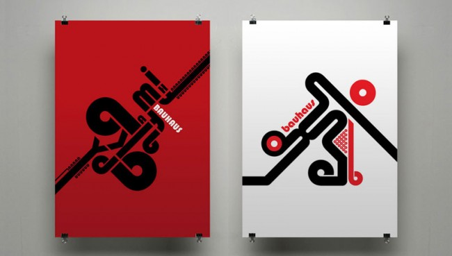 A tribute to Bauhaus