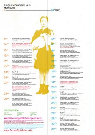 Junges Schauspielhaus Hamburg | Spielplan