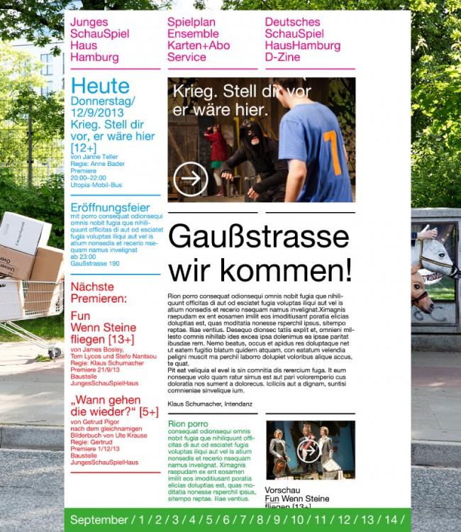 Junges Schauspielhaus Hamburg | Website