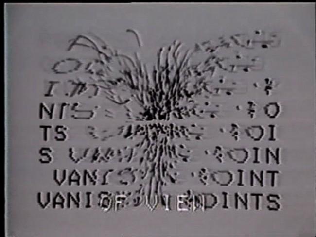 Gary Hill, »Happenstance«, USA 1982, Videokunst, Videostill