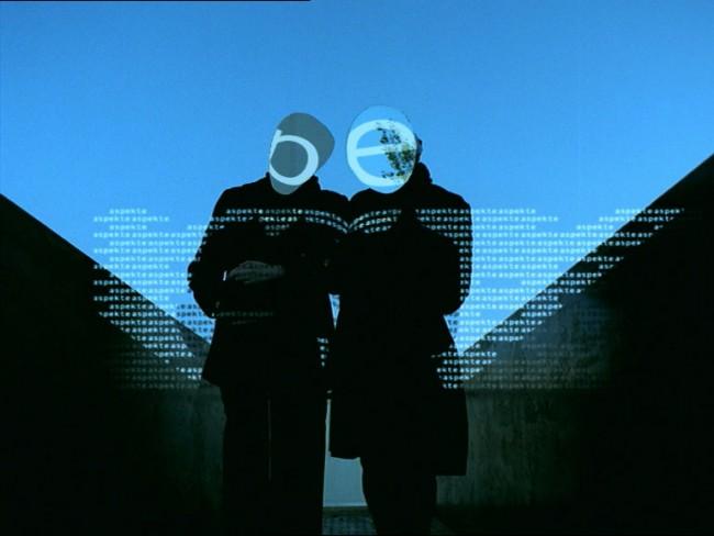 Velvet Mediendesign, »Aspekte«, ZDF, Deutschland 2001, TV-Opener, Videostill