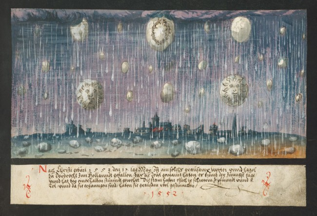 1552 – Hagel in Dordrecht