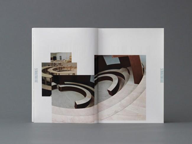 Neugestaltung des Katalogs »Stadien« von Knut Ebeling und Kai Schiemenz im Rahmen eines Semesterprojekts