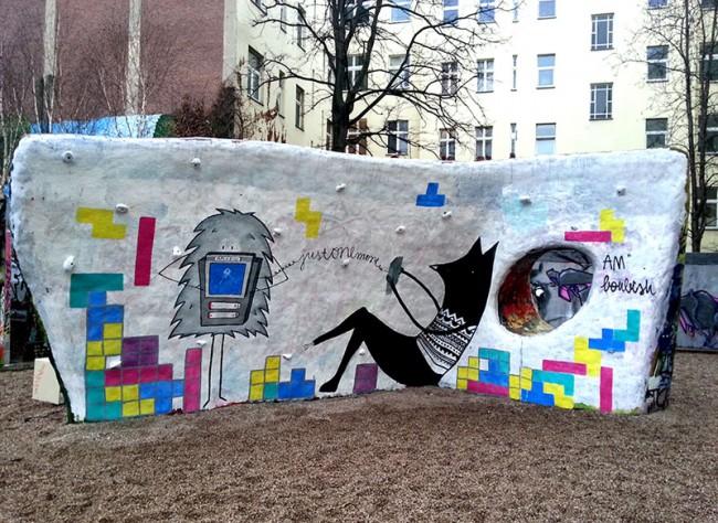 Illustration Wall