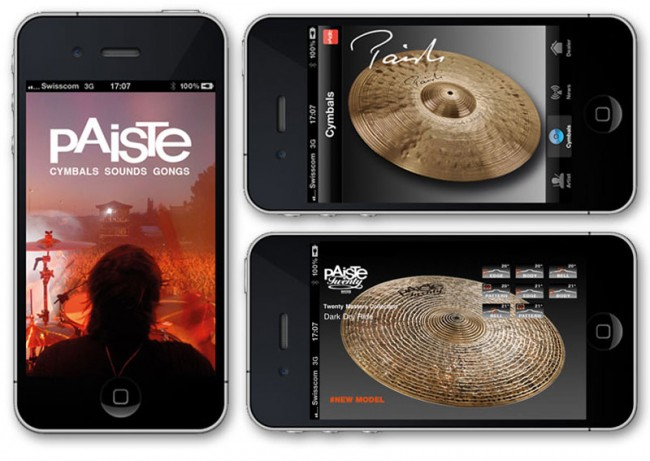 Paiste Cymbals, Mobile App