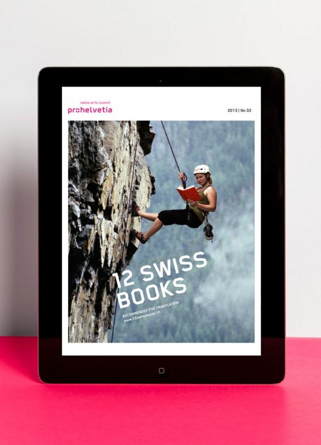 Pro Helvetia, 12 Swiss Books Mobile