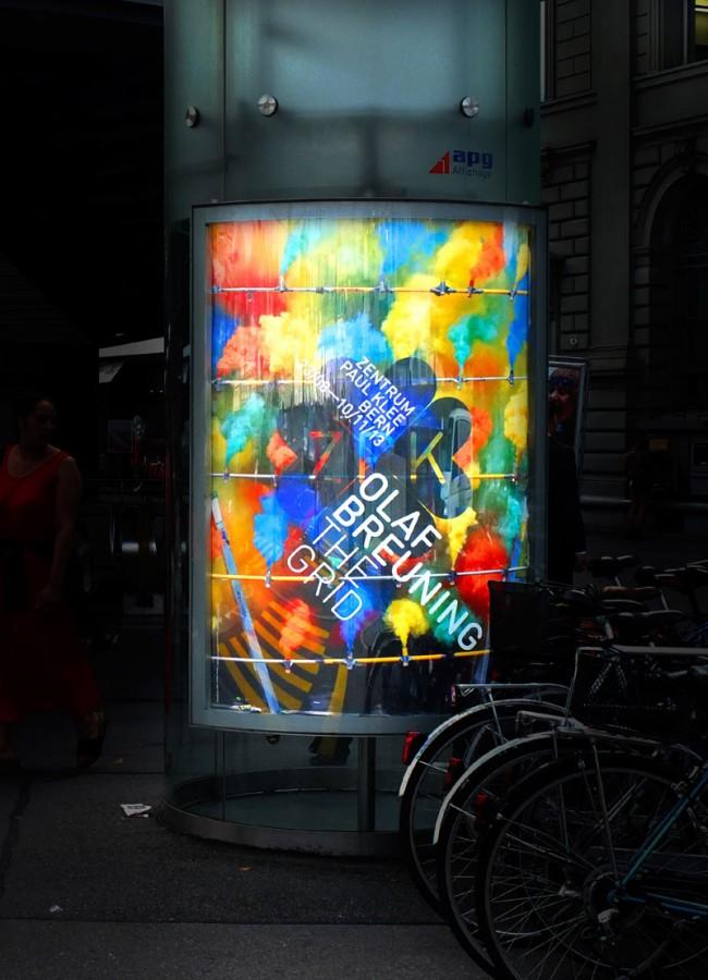 Zentrum Paul Klee, Plakat