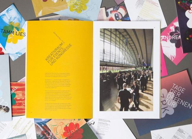 Zentrum Paul Klee, Eventbroschüre