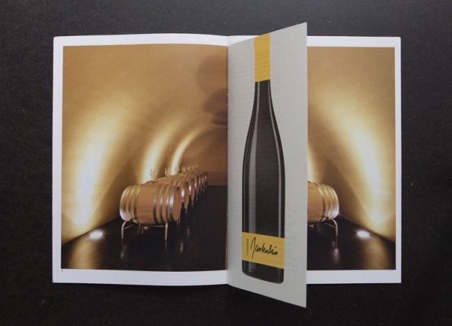 Weingut Gantenbein, Broschüre