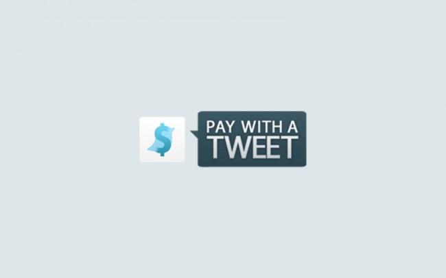pay with a tweet | Social Payment, Idee von Leif Abraham und Christian Behrens