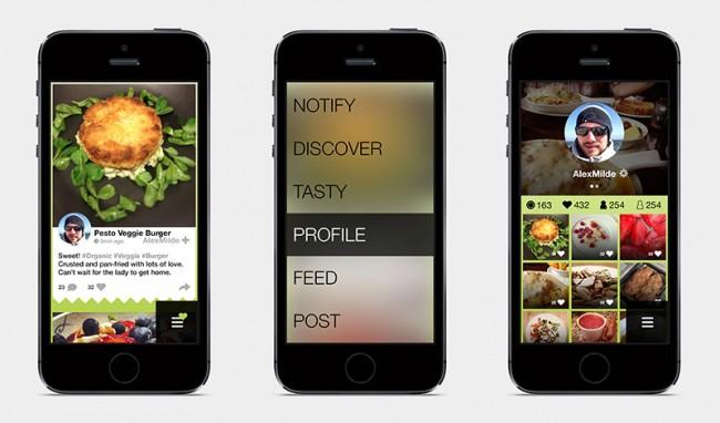 UrbanChef | App für Hobbyköche, Design: Damjan Pita