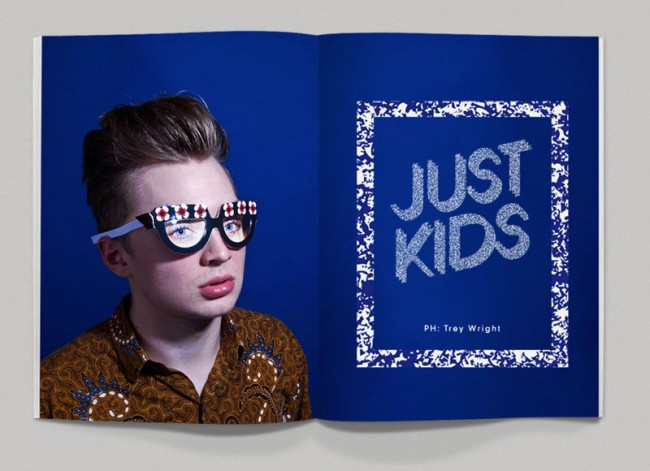 Trey Right für die erste Ausgabe des Online-Magazins madebyheartco.uk