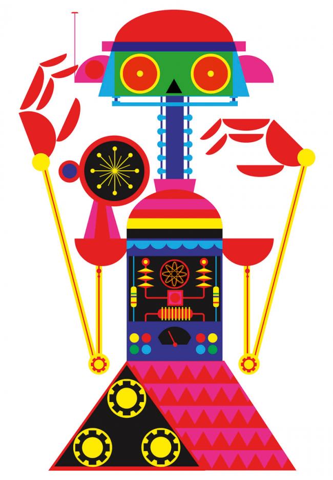 Robot 3, 2011 | Patrick Hruby, Sappi Fine Paper; digital