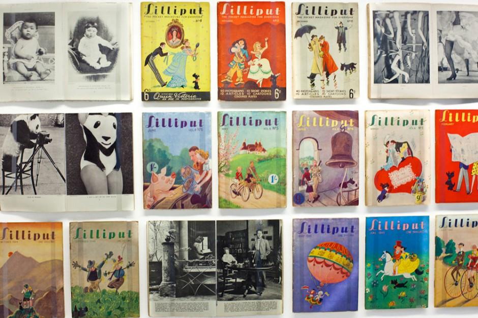 Aus der »Lilliput«-Sammlung von Udeo Kittelmann, zu sehen bei 032c Workshop
