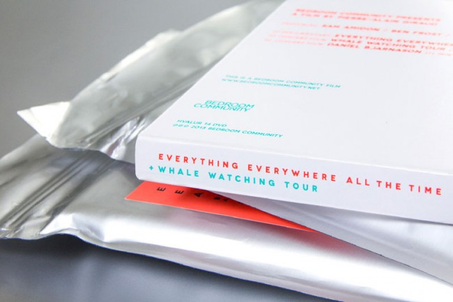 Gestaltung der »Everyhting Everywhere All The Time« DVD