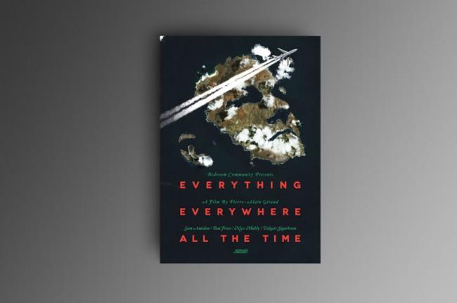 Film-Plakat »Everyhting Everywhere All The Time«