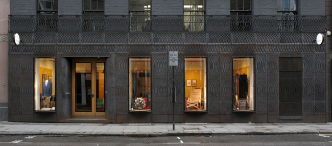 FAÇADE FOR PAUL SMITH, ALBEMARLE STREET, MAYFAIR, LONDON - Designed by 6a Architects