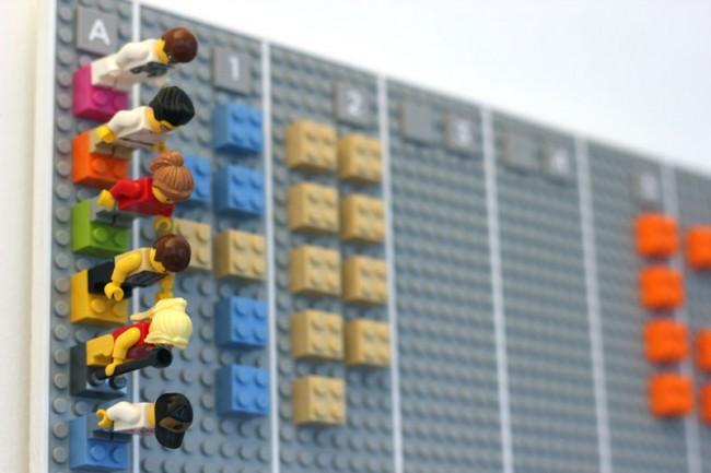 LEGO CALENDAR - Designed by Adrian Westaway, Clara Gaggero, Duncan Fitzsimons, Simon Emberton