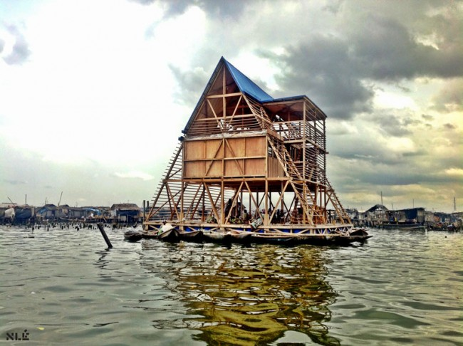 MAKOKO FLOATING SCHOOL - Designed by NLÉ, Makoko Community Building Team