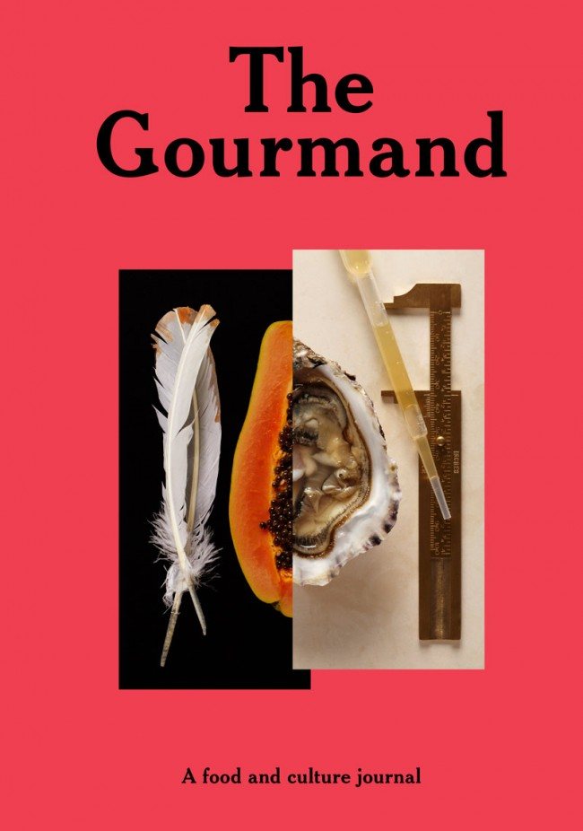 THE GOURMAND - A FOOD AND CULTURE JOURNAL - Created by David Lane (Creative Director), Marina Tweed & David Lane (Founders/Editors-in-chief)
