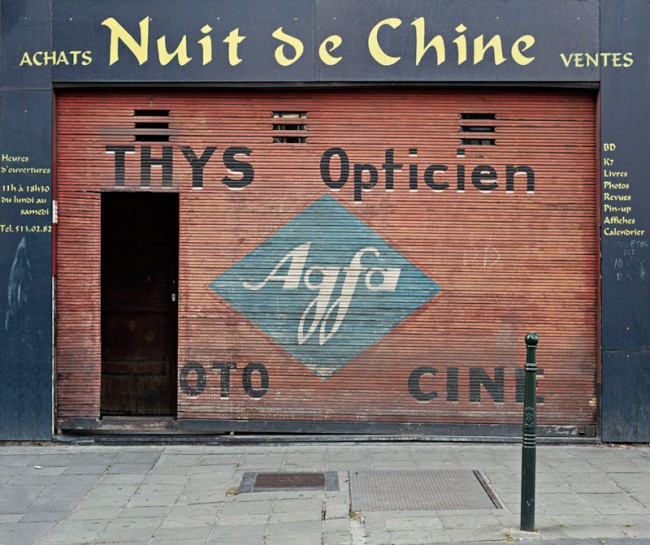 Thys Opticien Agfa Brussels, 2004