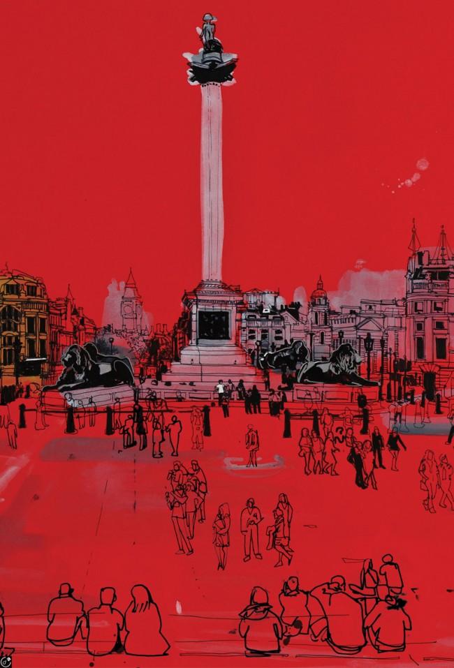 Trafalgar Square von Patrick Vale