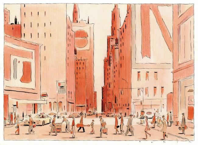 Seit dreissig Jahren mit seiner Stadtillustrationen international gefragt: François Avril, der von der Pariser Agentur Tiphaine vertreten wird
