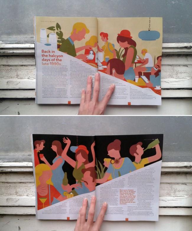 Illustration für das Magazin »Traveller«