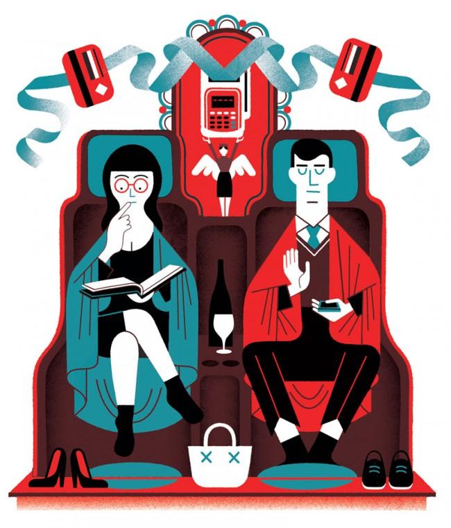 Illustration für »Wired«