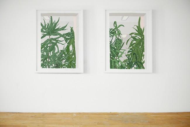 Zwei Prints für eine Ausstellung in der Kunsthalle Trollhättan