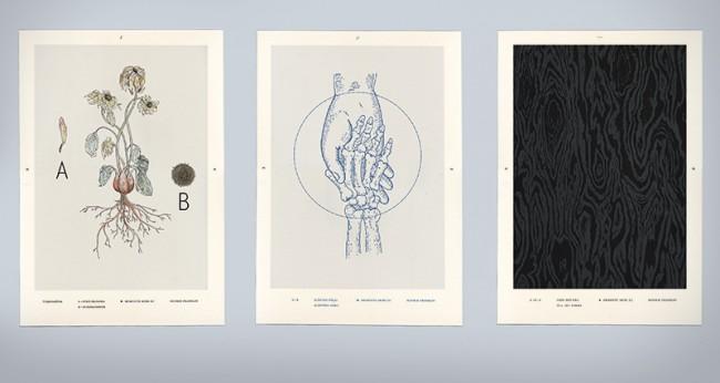 Plakatserie zum Thema »Memento mori«