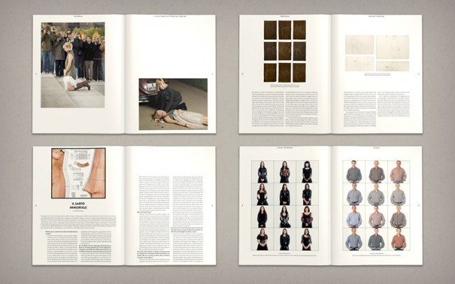 »A Magazine About: Fashion and Identity«