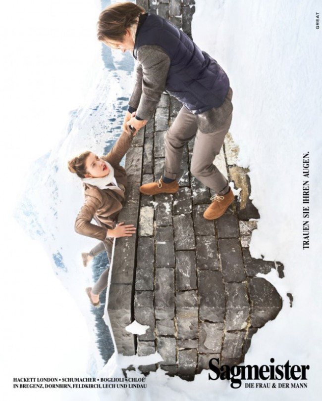 Sagmeister – Werbekampagne national
